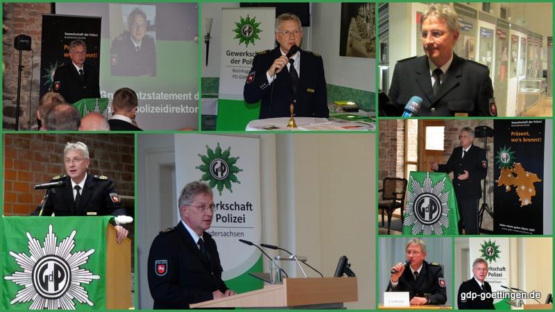 Landespolizeidirektor Knut Lindenau ist in den Ruhestand versetzt worden. Alles Gute!