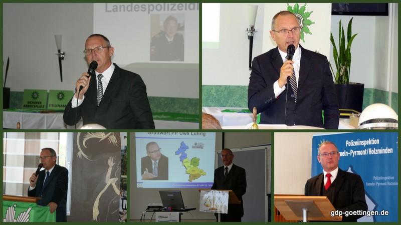 Zum Abschied für Uwe Lührig, Polizeipräsident der PD Göttingen