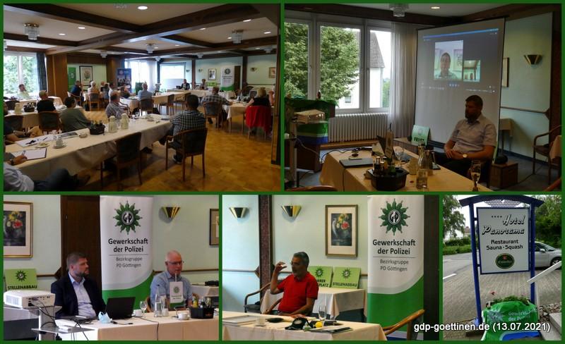 Persönlicher Austausch nach vielen Monaten virtueller Arbeit – Verlaufsbericht GdP-Vorstandstreffen der Bezirksgruppe Göttingen