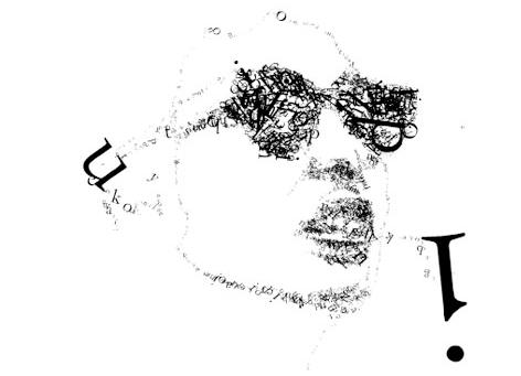 120: Typographic Portrait Exercise