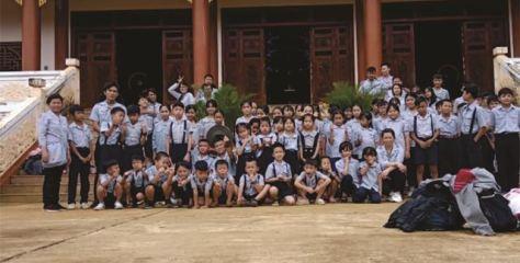 BHD GĐPT KonTum tổ chức trại Du Khảo – Dã ngoại