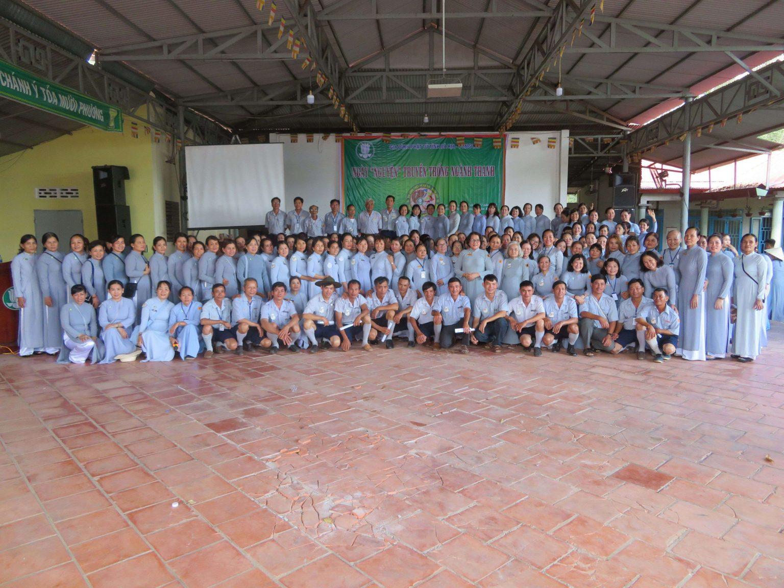 GĐPT Bà Rịa Vũng Tàu tổ chức ngành NGUYỆN truyền thống Ngành THANH