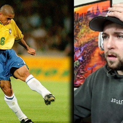 NFL Fan Reacts To ROBERTO CARLOS THE BEST LEFT BACK EVER