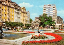 Leipzig - Saxon Square; since removed to make way for Museum of Fine Arts (Bild und Heimat, 1986)