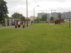 No Man's Land at Berlin Wall Memorial at Bernauer Strasse (2011, author's photo)