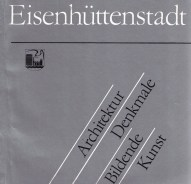 Publication from 1988 with an overview of architecture and public art in Eisenhüttenstadt (photo: author)