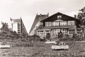 "The ""Luisensitz"" Holiday Home of the Free German Union Association, one of a number of family run hotels that were nationalized in 1950."