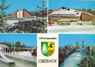 Top left: Interhotel Panorama, Oberhof's socialist landmark.