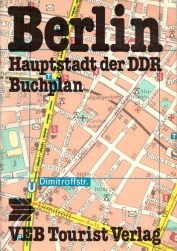 Map book of East Berlin from 1980