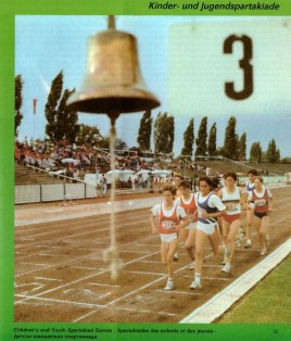 Spartakiade track and field competition