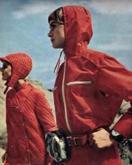 "Shot taken from photo spread entitled ""Anoraks"" shot by Roger Melis for Sibylle 6 1969."