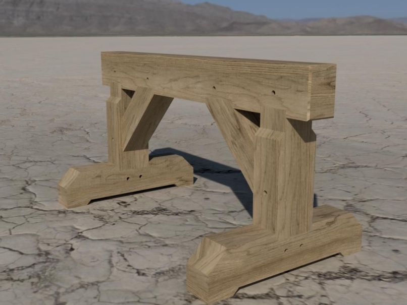 timber frame sawhorse | Fachriframe co