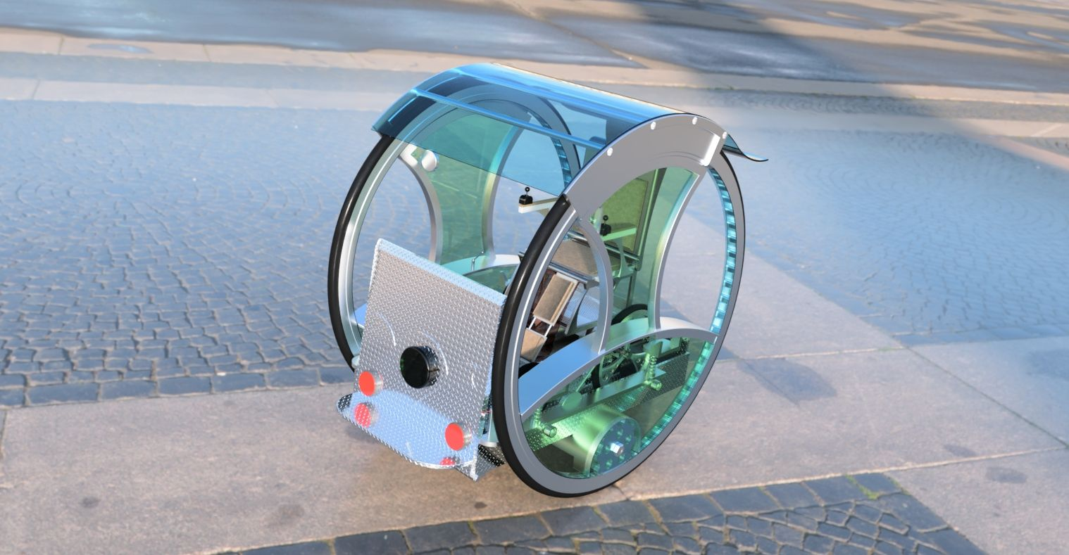 Chair Bike Mobile Electric Chair To Be Used With Electric Bike Autodesk