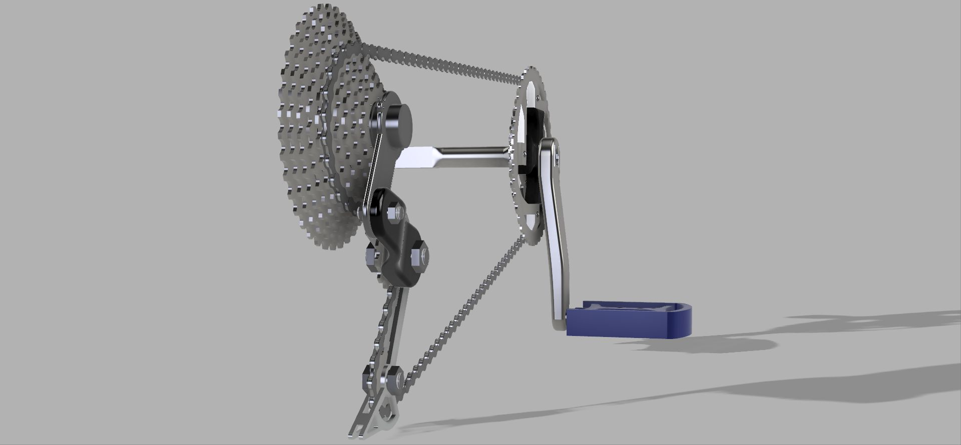 Bicycle Drivetrain System Autodesk Online Gallery