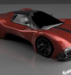 alfa romeo concept 1 v24 render ready v7bm  [ 1280 x 723 Pixel ]