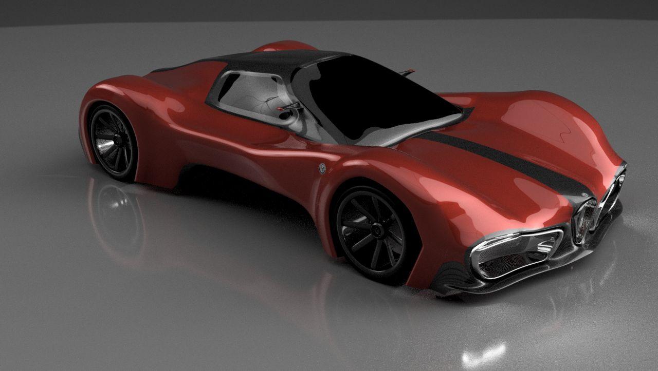 hight resolution of alfa romeo concept 1 v24 render ready v7bm