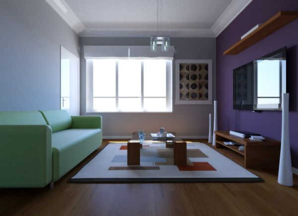 3DS Max Interior Render