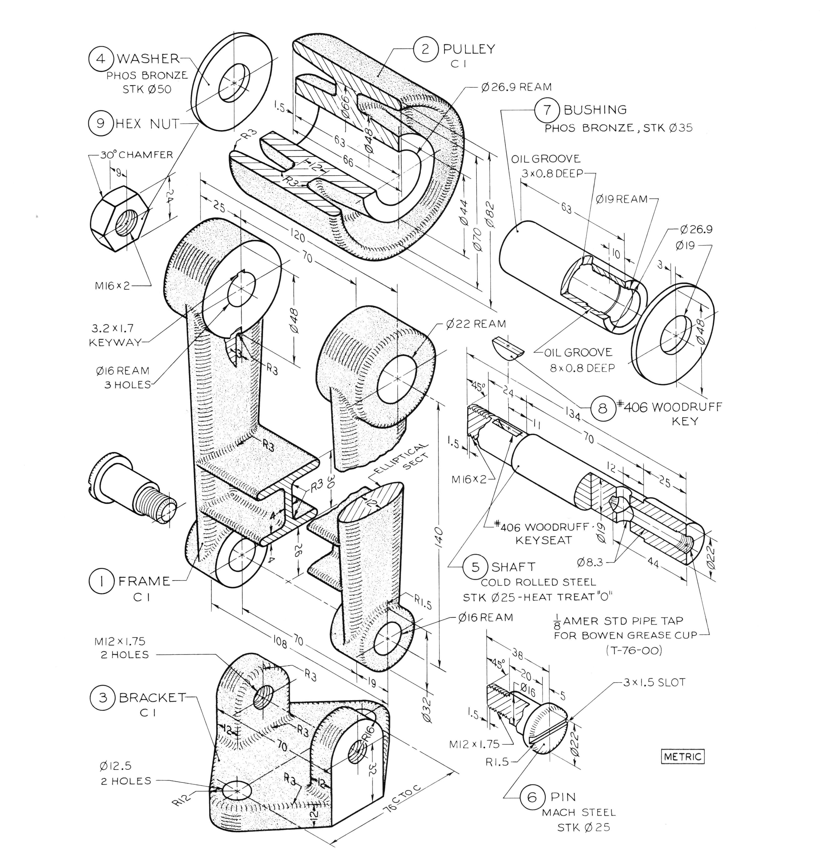 Sample Drawings for training|Autodesk Online Gallery