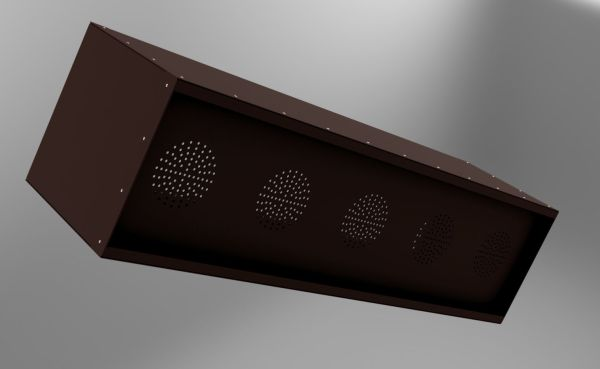 Rusty Steel Planter Box With Copper Rivets Autodesk Online