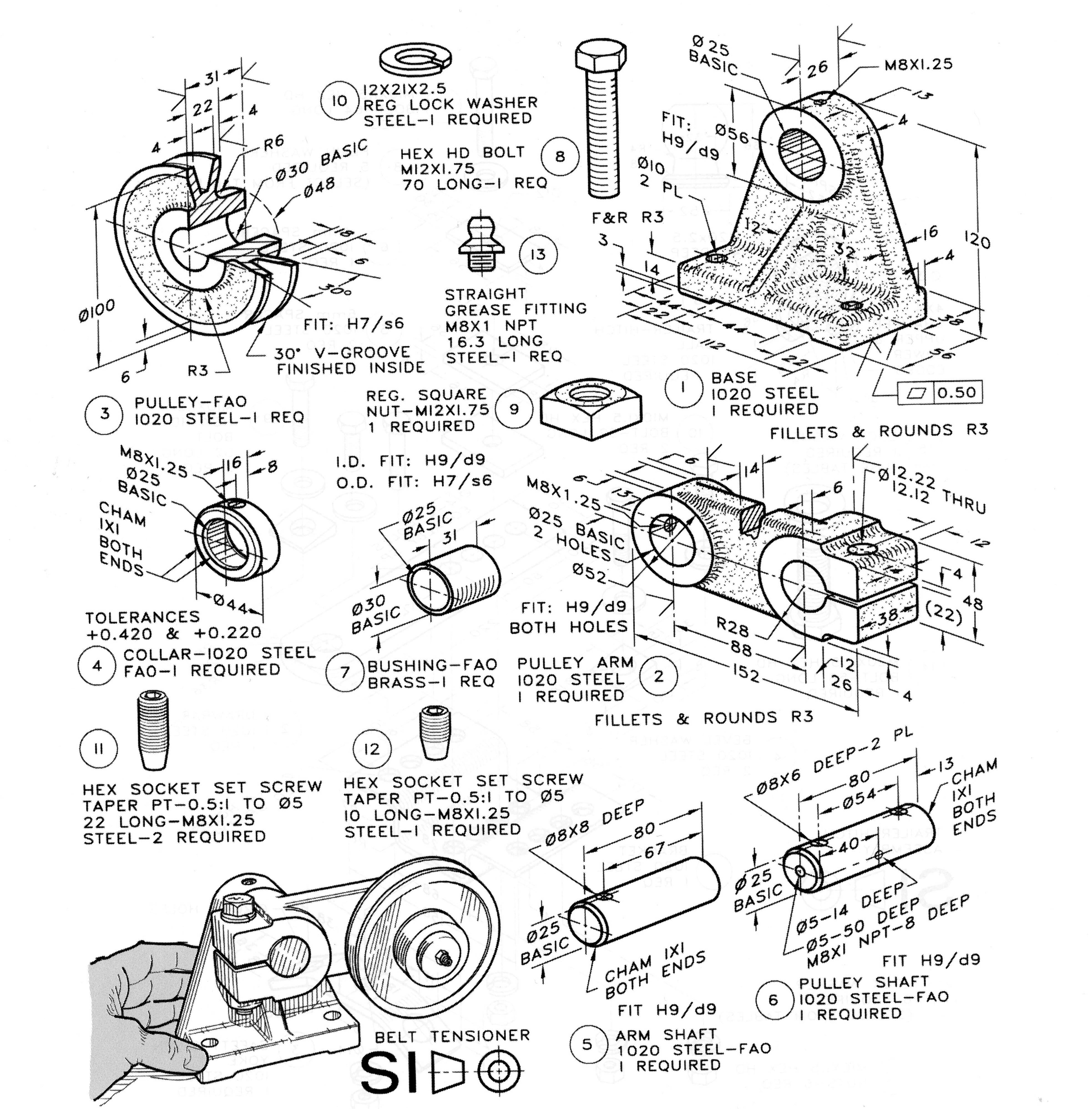 Pulley Tensioner Autodesk Online Gallery