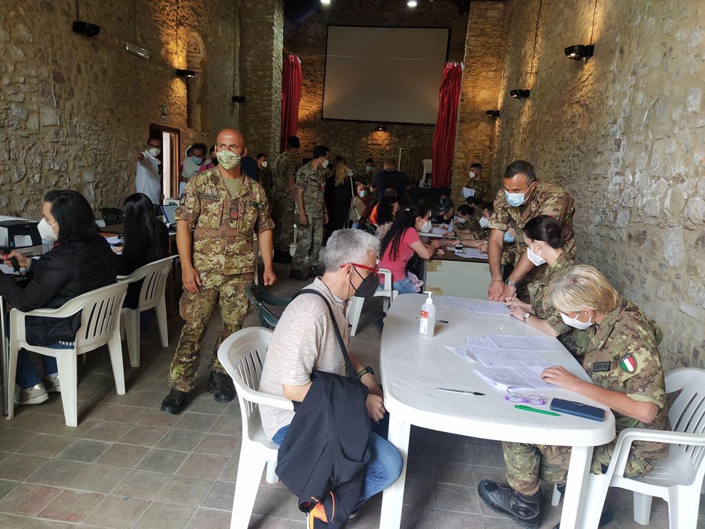 """In Sicilia l'operazione """"Over 60 Tour"""", l'Esercito a supporto della  campagna vaccinale - Giornale di Sicilia"""