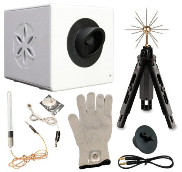A5 - BioWell with water sensor, glove, sputnik and calibration unit