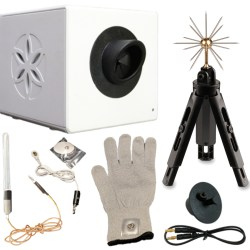 A5: BioWell with water sensor, glove, sputnik and calibration unit