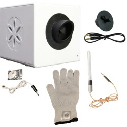 A6: BioWell with glove, water sensor and calibrator