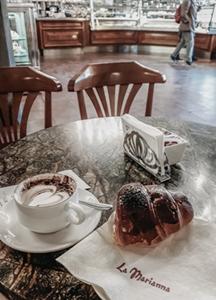 Włoska kawiarnia w Bergamo