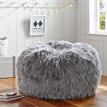 bean bag chairs amazon pc gaming chair futrzana pufa - gdzie kupić