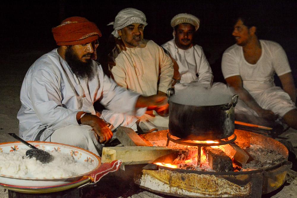 Beduini na wyspie Masirah