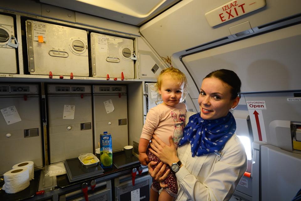 Na pokładzie Air Serbia