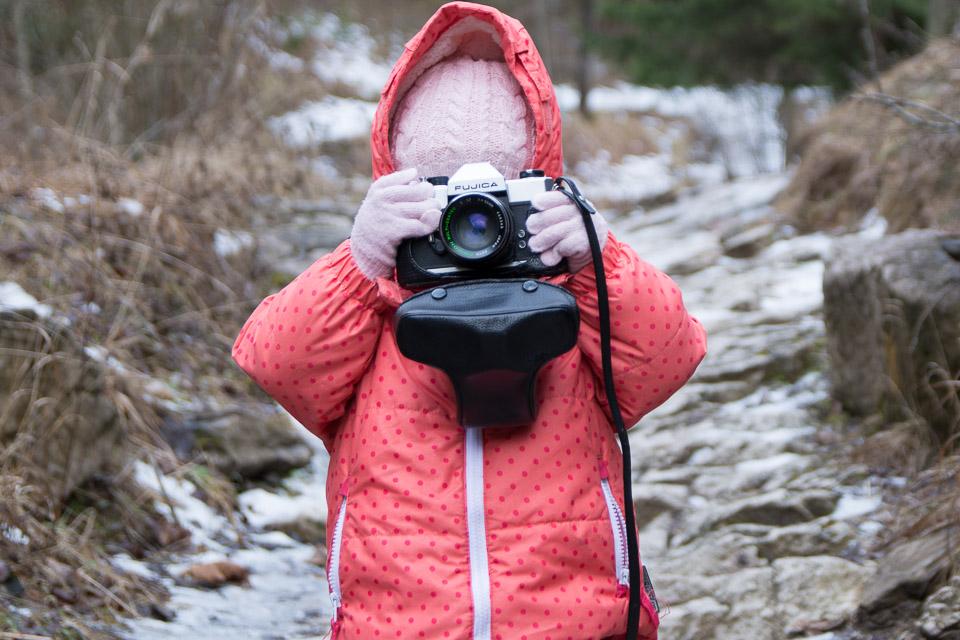 Maja - człowiek aparat