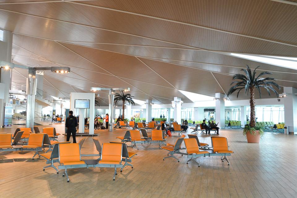Hala odlotów na lotnisku w Brunei