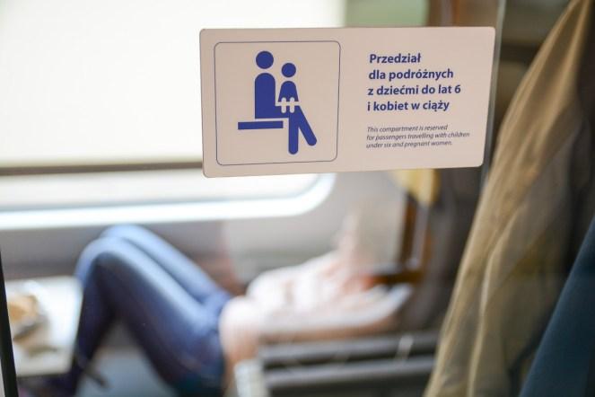 W pociągach PKP Intercity Premium można liczyć na specjalne przedziały dla podróżujących w ciąży