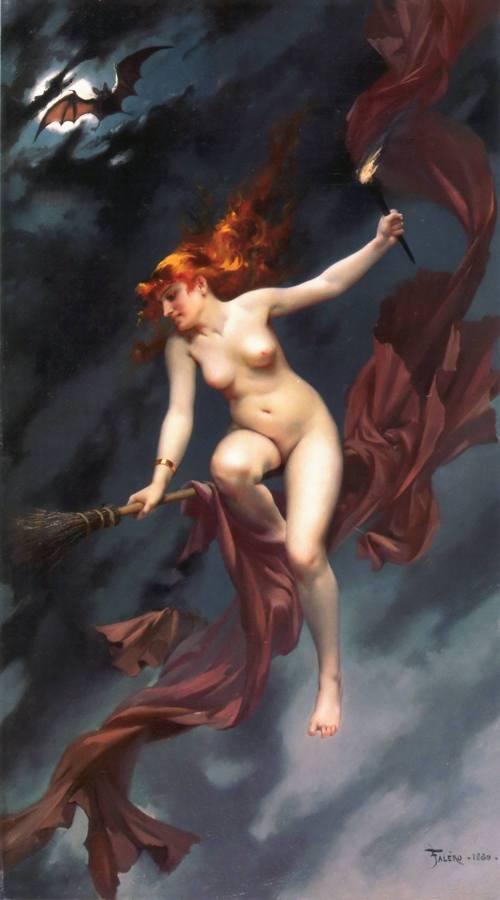 Falero - Musa della notte (1880)