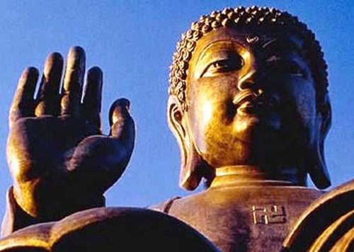 Svastica sul Buddha