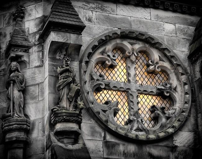 Croce templare Rosslyn Chapel