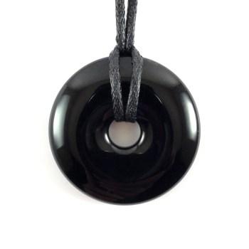 Ciondolo Ossidiana nera