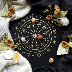 Litomanzia astrologica