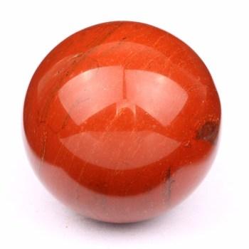 Sfera Diaspro rosso