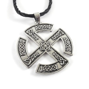 Ciondolo Croce solare celtica