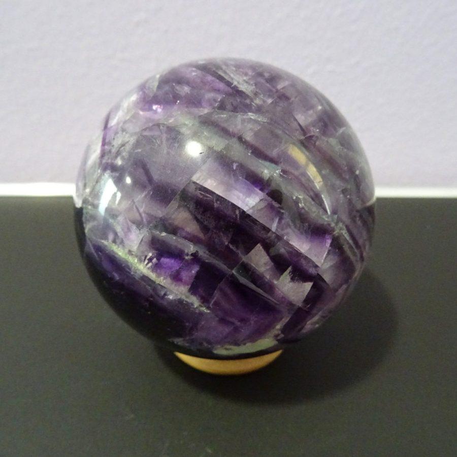 Sfera fluorite viola