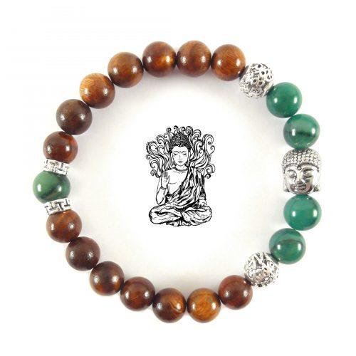 Bracciale Giada con Buddha