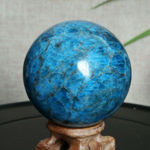 Sfera Apatite blu