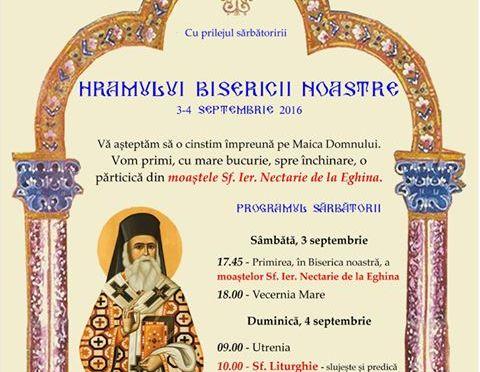 Sarbatoarea Hramului Bisericii Ortodoxe din Geaca si Sarbatoarea Fiii Satului