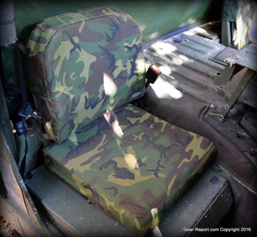 medium resolution of oregon aero hmmwv passenger seat installed in hmmwv