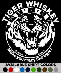 tiger whiskey t-shirt v2