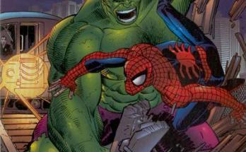 Peter Parker Spider-Man 14 Hulk