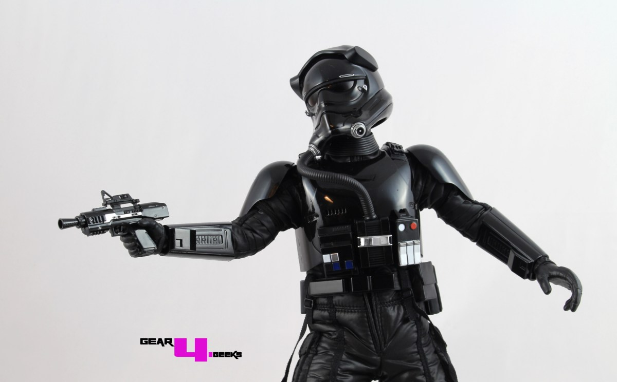 Hot Toys Star Wars: The Force Awakens First Order TIE Fighter Pilot Review